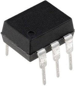 MOC3022X V2, 6 PIN, DIP, TRIAC, SINGLE, OPTOCOUPLER