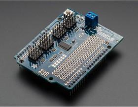 Фото 1/4 16-Channel 12-bit PWM/Servo Shield - I2C interface, (1411)