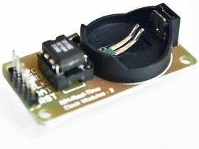 Фото 1/4 Real Time Clock Module DS 1302 [without Battery], (PMS051)