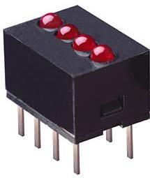 555-5301F, LED Uni-Color Green 565nm 8-Pin Bulk, Dialight | купить в розницу и оптом