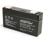 ROBITON VRLA6-1.3, Аккумулятор