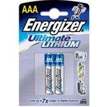 LR03 (А286/AAA)2, Элемент питания литиевый Ultimate Lithium (2шт)1.5В