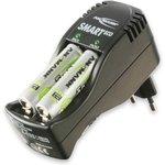 ANSMANN 1101-0004 Smart Eco Set + 4AA800 BL1, Зарядное устройство