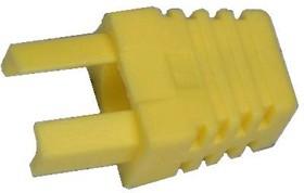 Колпачок на TP8P8C (054) желтый, RJ45