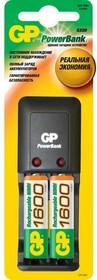 PB330GSC160, Устройство зарядное для 1-2 АА/ААА Ni-MH + 2*AA 1600 mAh