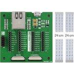 MIKROE-2300, mikromedia HMI Breakout Board, Плата расширения для mikromedia HMI