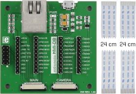 Фото 1/5 MIKROE-2300, mikromedia HMI Breakout Board, Плата расширения для mikromedia HMI
