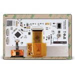 """Фото 3/4 MIKROE-2291, mikromedia HMI 7"""" UXB, Встраиваемая HMI панель 800 x 480 px на базе МК FT900Q, емкостная сенсорная панель"""