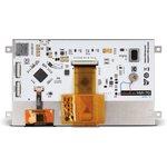 """Фото 3/4 MIKROE-2290, mikromedia HMI 7"""" Cap, Встраиваемая HMI панель 800 x 480 px на базе МК FT900Q, емкостная сенсорная панель"""
