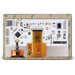 """Фото 3/4 MIKROE-2292, mikromedia HMI 7"""" UXW, Встраиваемая HMI панель 800 x 480 px на базе МК FT900Q, емкостная сенсорная панель"""