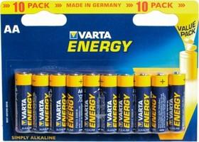 4106 (A316/LR6/AA)10, Элемент питания алкалиновый ENERGY (10шт) 1.5В