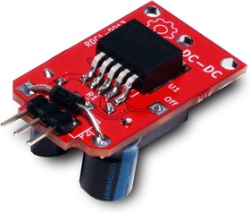 RDC1-0013 5V, Импульсный понижающий стабилизатор напряжения. LM2575-5, 6-40В / 5В. 1А