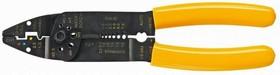 Фото 1/2 32D404, Инструмен для резки, зачистки кабеля и обжима наконечников