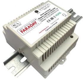 50W/12-24V/DIN, Блок питания с регулируемым напряжением, 12-24В,4.2-2.2А,50Вт