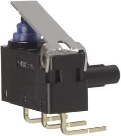 D2HWBR211DR, Switch Snap Action N.O./N.C. SPDT Hinge Lever PC Pins 2A 125VAC 42VDC 0.75N Thru-Hole