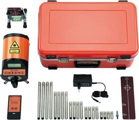 Фото 1/2 Нивелир лазерный электронный для прокладки труб и ливневых канализаций Geo-Fennel FKL-80 (нивелир лазерный с аккумулятором, зарядное устройс