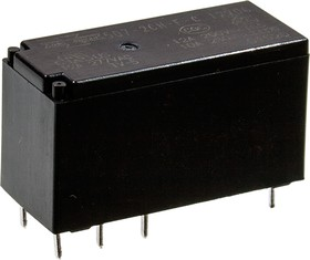 507-2CH-F-C 12VDC (845H-2C-C 12VDC), Реле 2пер. 12В/12А, 240V