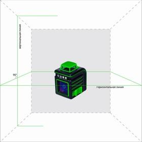 Построитель лазерных плоскостей ADA CUBE 360 Green Ultimate Edition