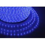 121-123-6, Дюралайт LED, постоянное свечение (2W) - синий ...