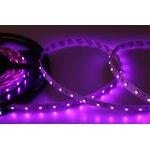 Фото 2/3 141-337, LED лента открытая, 8мм, IP23, SMD 3528, 60 LED/m, 12V, розовая