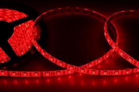 Фото 1/3 141-491, LED лента силикон, 10мм, IP65, SMD 5050, 60 LED/m, 12V, красная