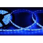 Фото 4/4 141-493-0, LED лента герметичная, IP65, SMD 5050, 60 диодов/метр, 12 В, цвет синий, 5 метров в блистере, с блок