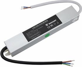 200-024-2, Источник питания 110-220V AC/12V DC, 2А, 24W с проводами, влагозащищенный (IP67)