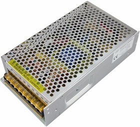 200-300-1, Источник питания 220V AC/12V DC, 25A, 300W с разъёмами под винт, без влагозащиты (IP23)