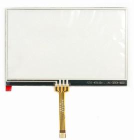 "Сенсорное стекло (тачскрин) для GPS навигатора 4.5"" (10.3x6.6 см) №10"