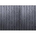"""Фото 2/2 235-265, Гирлянда """"Светодиодный Дождь"""" 2х6м, эффект водопада, черный провод, 220В, диоды БЕЛЫЕ"""