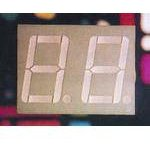 Фото 3/5 DC56-11GWA, Индикатор зеленый ОК,14.2мм 2х7, 10.5мКд