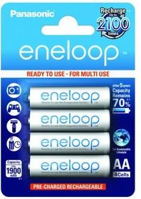 ACC 1.2V 1900mAh Eneloop AA BL4, (Panasonic eneloop BK-3MCCE/4BE 1900мАч AA BL4)