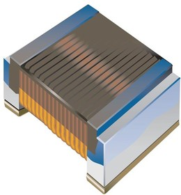 CW160808-33NJ, Inductor RF Wirewound 0.033uH 5% 250MHz 43Q-Factor Alumina 0.6A 0.22Ohm DCR 0603 T/R