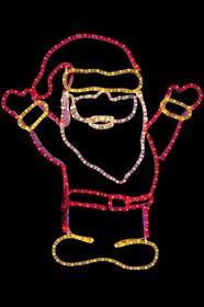 """501-318, Фигура """"Дед Мороз Привет!"""", размер 83*69 см"""
