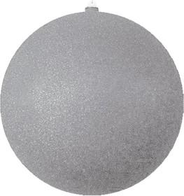 """502-145, Елочная фигура """"Шарик"""", 25 см, цвет серебряный"""