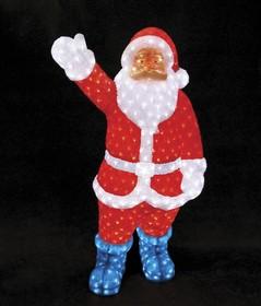 """513-182, Акриловая светодиодная фигура """"Санта Клаус"""" 210см, IP44 понижающий трансформатор в комплекте, NEON-N"""
