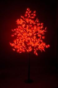 """531-512, Светодиодное дерево """"Клён"""", высота 2,1м, диаметр кроны 1,8м, красные светодиоды, IP 65, понижающий т"""