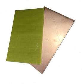 Алюминий фольгированный 1.5 х 120 х 180 мм односторонний