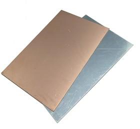 Алюминий фольгированный 1.0 х 250 х 300 мм односторонний