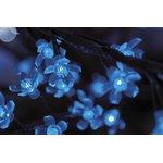 """Фото 2/2 531-213, Светодиодное дерево """"Сакура"""", высота 3,6м, диаметр кроны 3,0, синие светодиоды, IP 64, понижающий тр"""