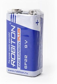 BAT [9V] ROBITON PLUS R-6F22-SR1 6F22 SR1, (ROBITON PLUS R-6F22-SR1 6F22 9V SR1)