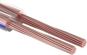 01-6210-6, Кабель акустический, 2х6.00 мм², прозрачный BLUELINE, 100 м.