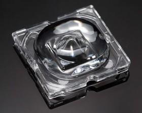 C12727_STRADA-SQ-VSM, Square Optical Lens Clear PMMA Glue/Pin/Screw Box