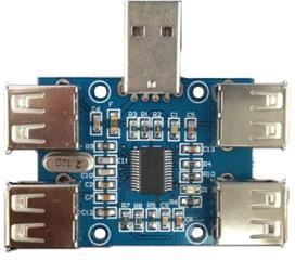 Фото 1/2 USB2.0 HUB extension module, (LC-USB-HUB)