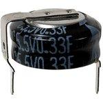 Фото 2/5 EECS0HD334H, 0.33 Ф, 5.5 B, 10 мм, 1207H, Ионистор