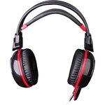 Фото 4/9 Наушники с микрофоном A4 Bloody G300 черный/красный 2.2м мониторные оголовье (G300)