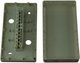 04-0111, Коробка монтажная под 1 плинт ( 1 плинт в комплекте)(160*85*36мм)