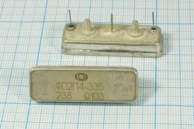 Фильтр кварцевый 18.5МГц с полосой 43кГц, ф 18500 \пол\ 43/ \\\ФП2П4-335\\