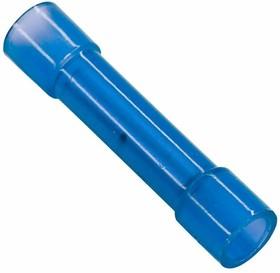 Фото 1/3 08-0723, СОЕДИНИТЕЛЬНАЯ ГИЛЬЗА изолированная (СГИ L-27.3мм) нейлон 1.5-2.5мм² (BNY-2) синий