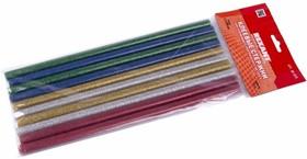 09-1215, Клеевой стержень d=11.3мм L=270мм Цветной с Блестками